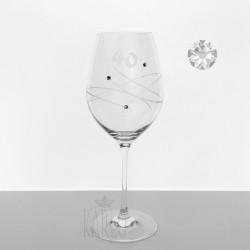Výročný pohár 40 Swarovski®...