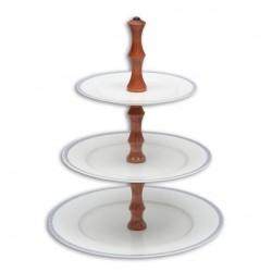 Poschodový tanier...